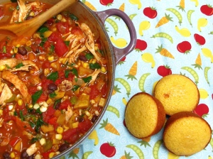 Enf of Summer Herby Chicken Chili